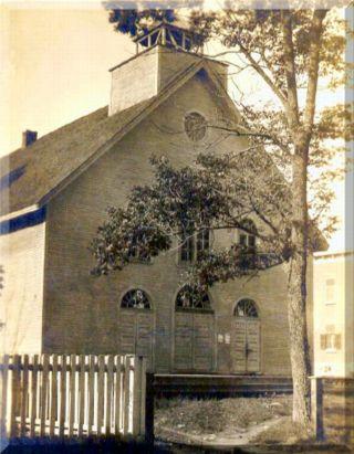 St. Thomas Aquinas Mission Chapel - post 1905 [Photo courtesy of JGG.]